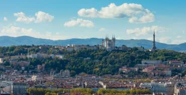 Photo d'une vue de Lyon