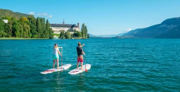 Stand-up paddle au Lac du Bourget (73)