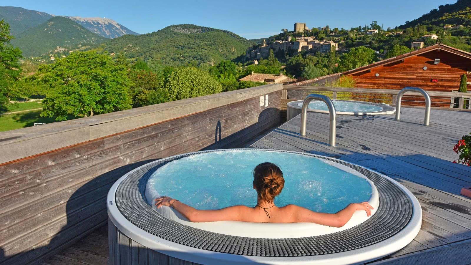 Photo d'un paysage à Montbrun-les-Bains, PNR des Baronnies - Drôme Provençale