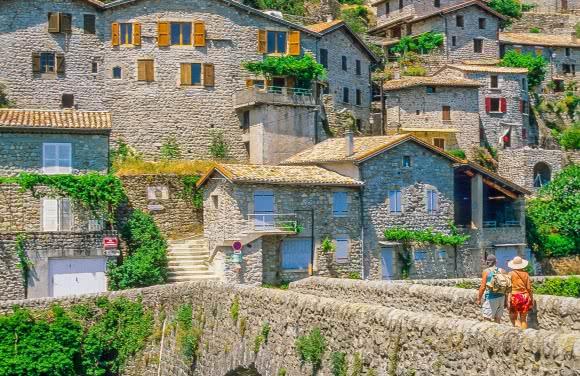 Jaujac, village de caractère - PNR Monts d'Ardèche