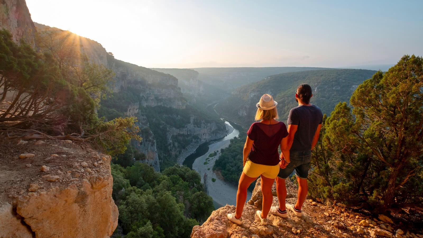 Panorama sur les Gorges de l'Ardèche - Ardèche méridionale