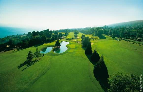 Evian Masters Golf Club, au bord du Lac Léman (74)
