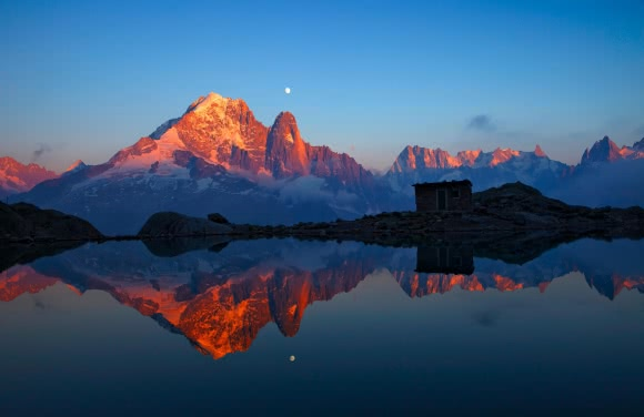 Lac Blanc, massif du Mont Blanc (74)