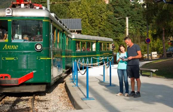 Tramway du Mont-Blanc, Saint-Gervais-les-Bains - massif du Mont Blanc (74)