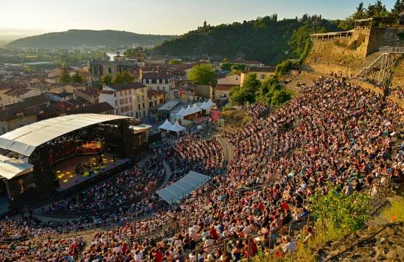 Festival 'Jazz à Vienne' - théâtre gallo-romain (38)