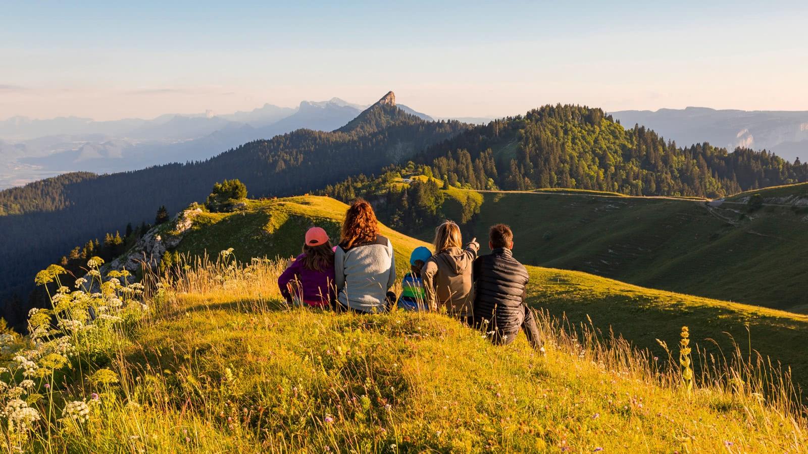 Randonnée en famille au sommet du Charmant Som - PNR Chartreuse (38)