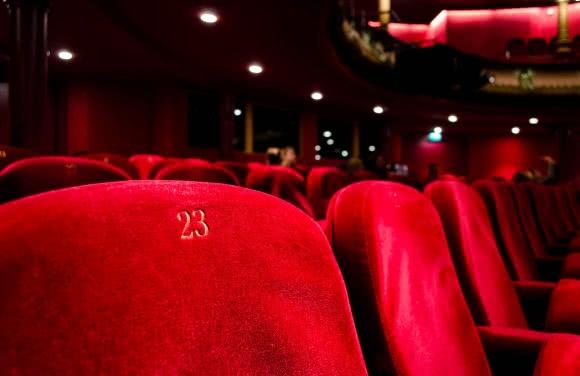 Photo d'une salle de cinéma