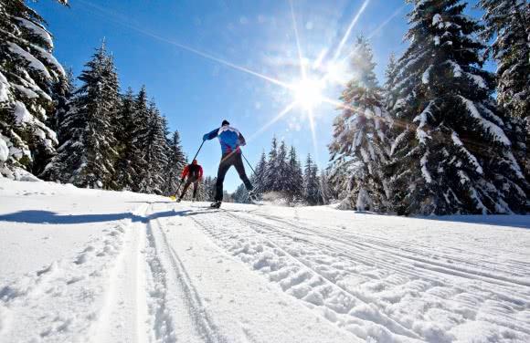 Ski de fond, Espace nordique Sancy (63)