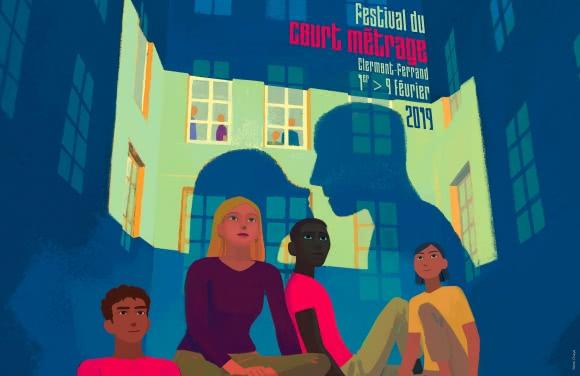 Affiche du Festival du Court Métrage de Clermont-Ferrand