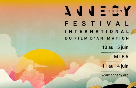 Affiche du Festival International du Film d'Animation d'Annecy