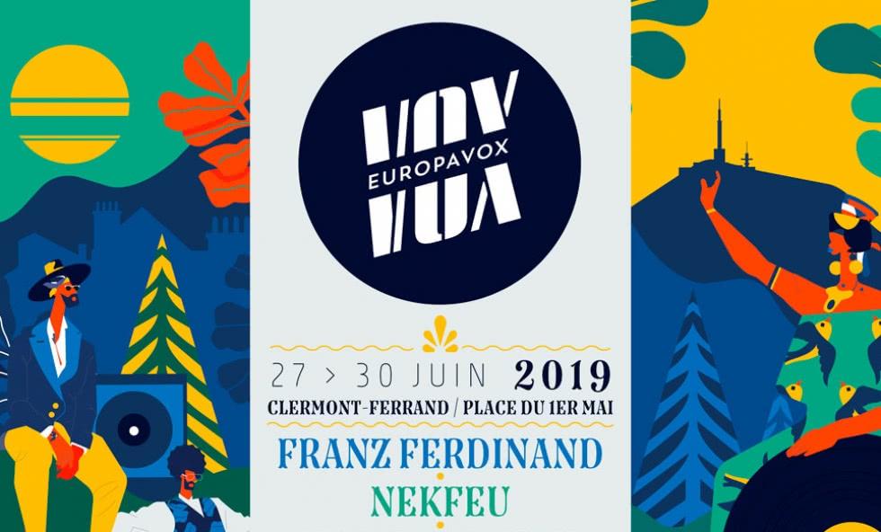 Affiche Europavox 2019