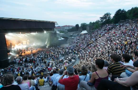 Lyon - Festival Les Nuits de Fourvière dans le théâtre gallo-romain