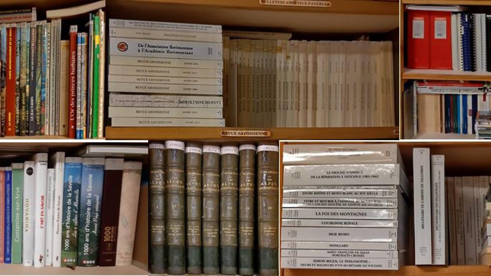 Bibliothèque de la Société d'Histoire et d'Archéologie des Amis de Viuz-Faverges
