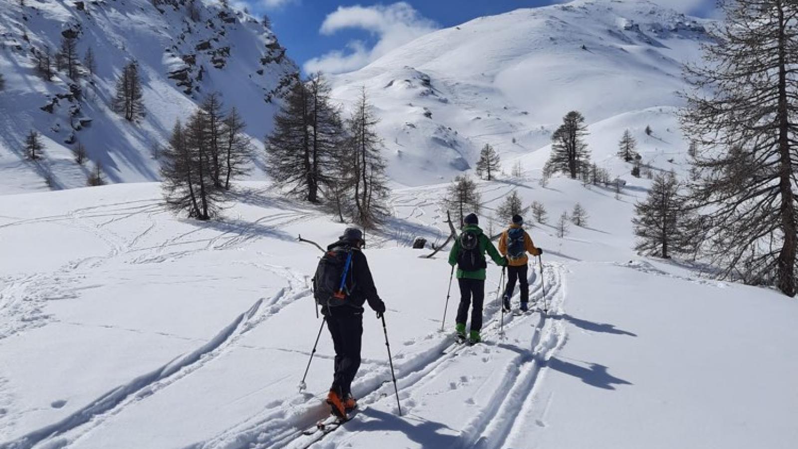 ski rando journée