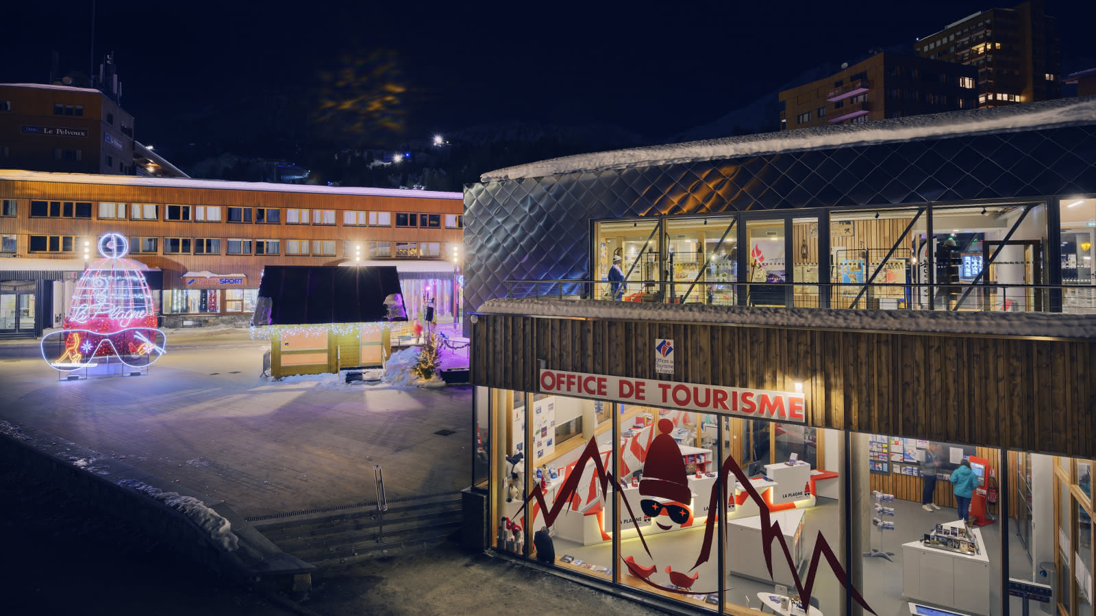 Extérieur Office de Tourisme de Plagne Centre