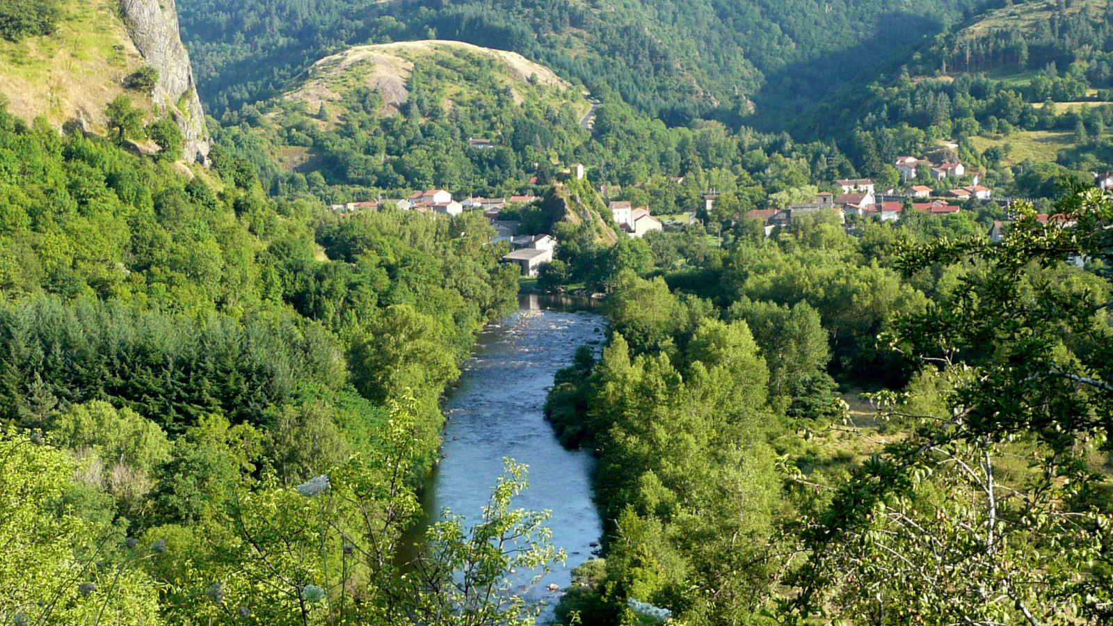 La Pèlerine - Les gorges de l'Allier
