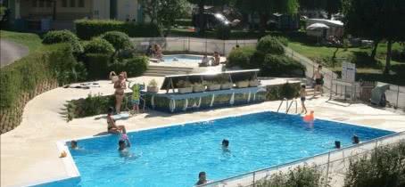camping Vieille Eglise - piscine