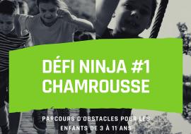 Visuel défi ninja n°1 course obstacle Chamrousse