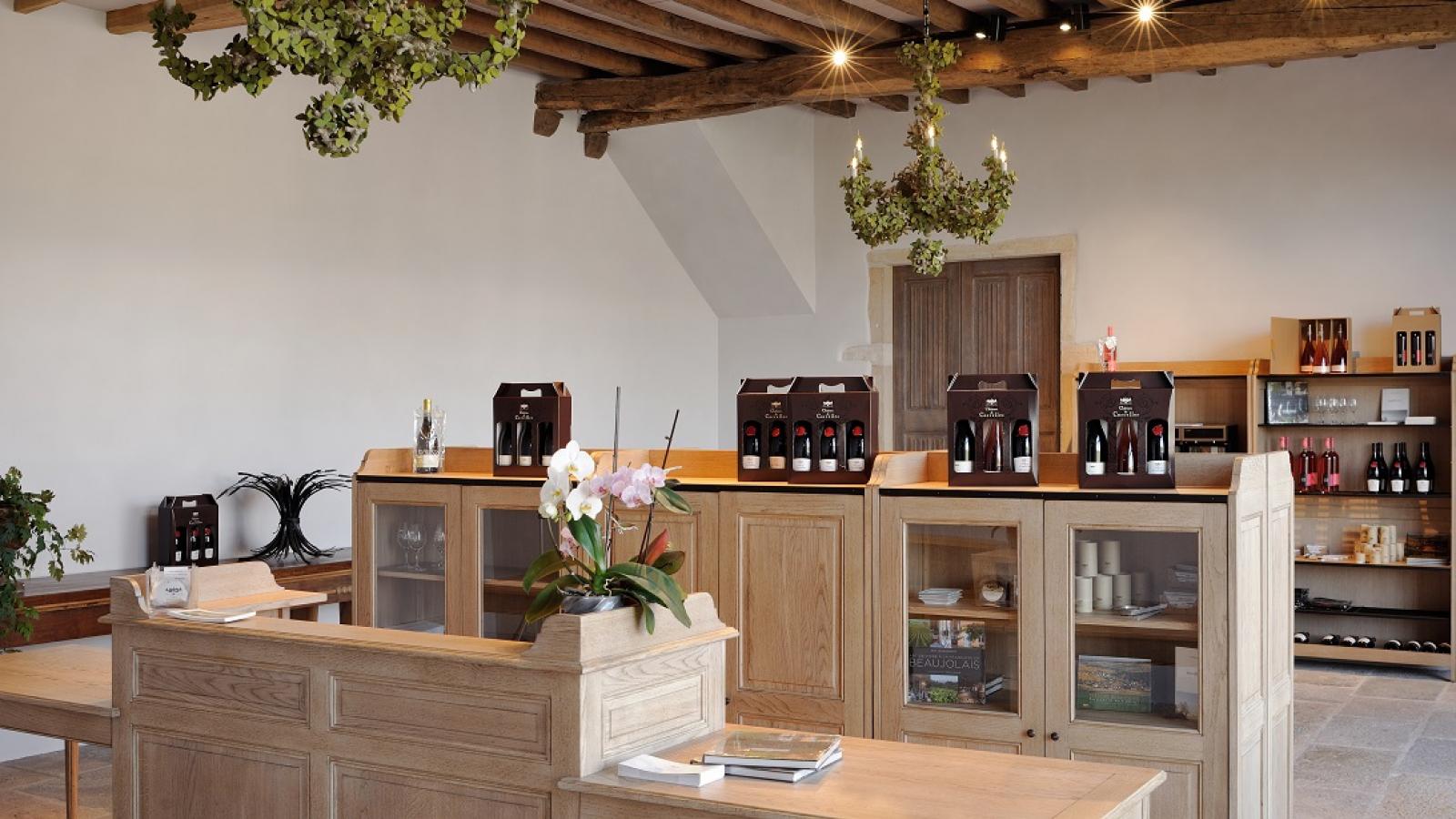 Boutique au Château de Corcelles
