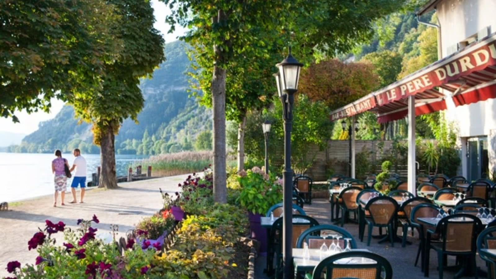 Terrasse restaurant Pere Durdu - Nantua