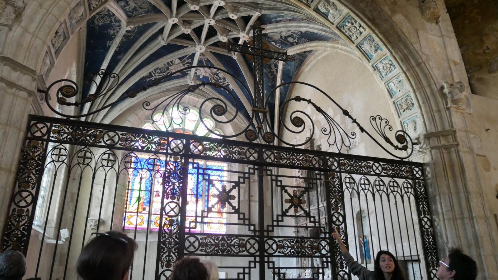 Abbatiale St Michel visite groupe Nantua