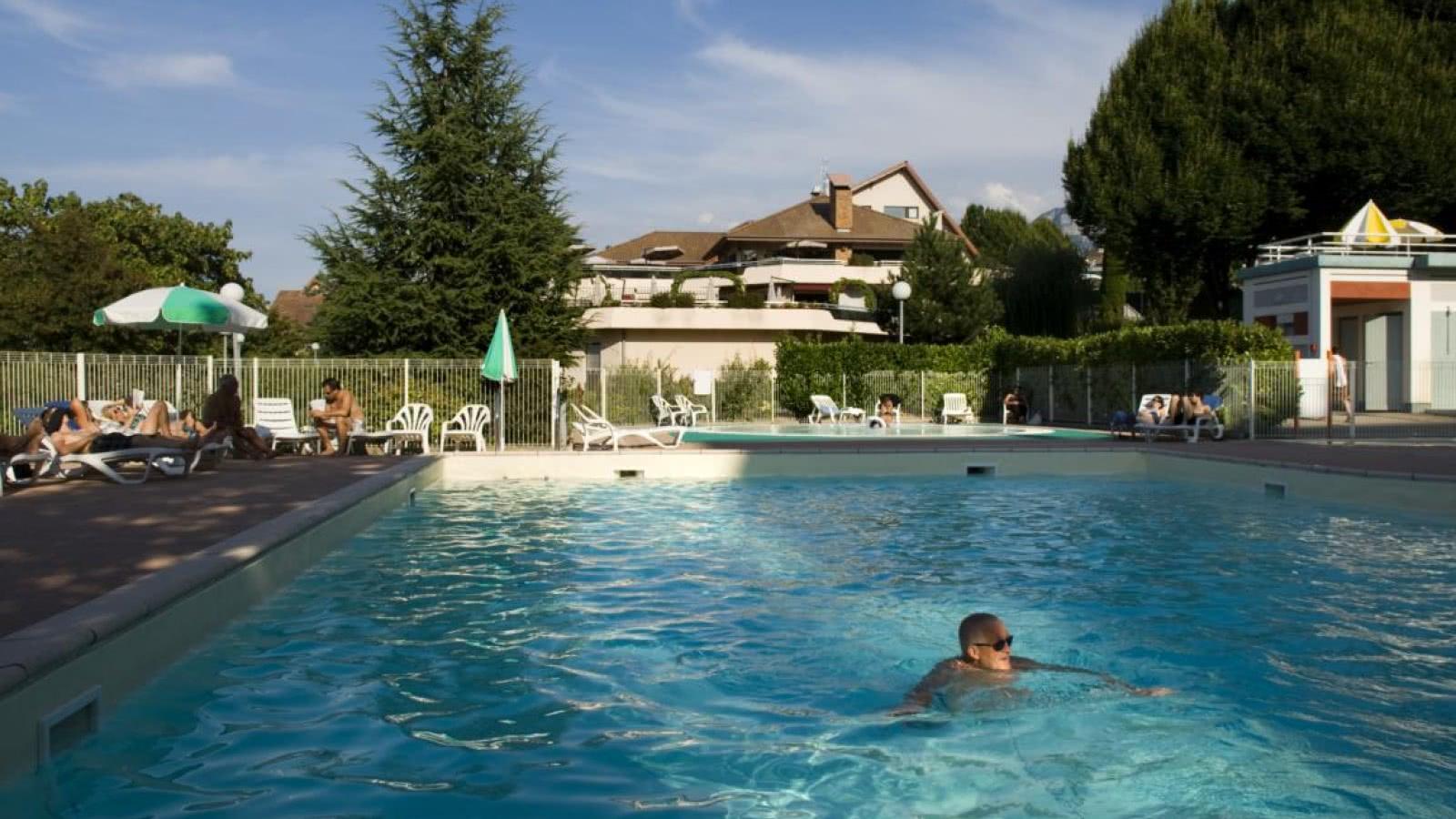 piscine VVF Evian