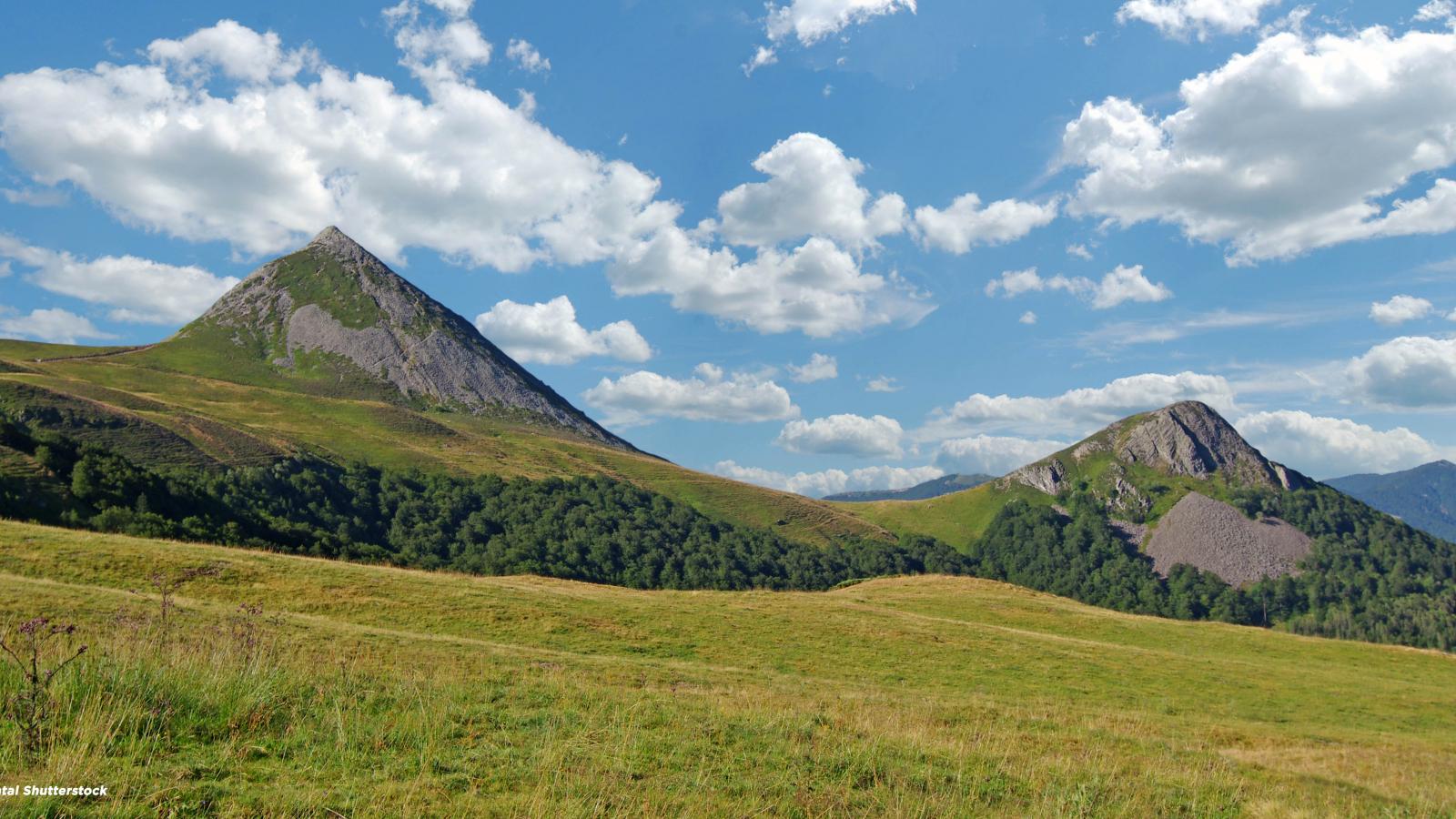 La Pèlerine - Les monts du Cantal