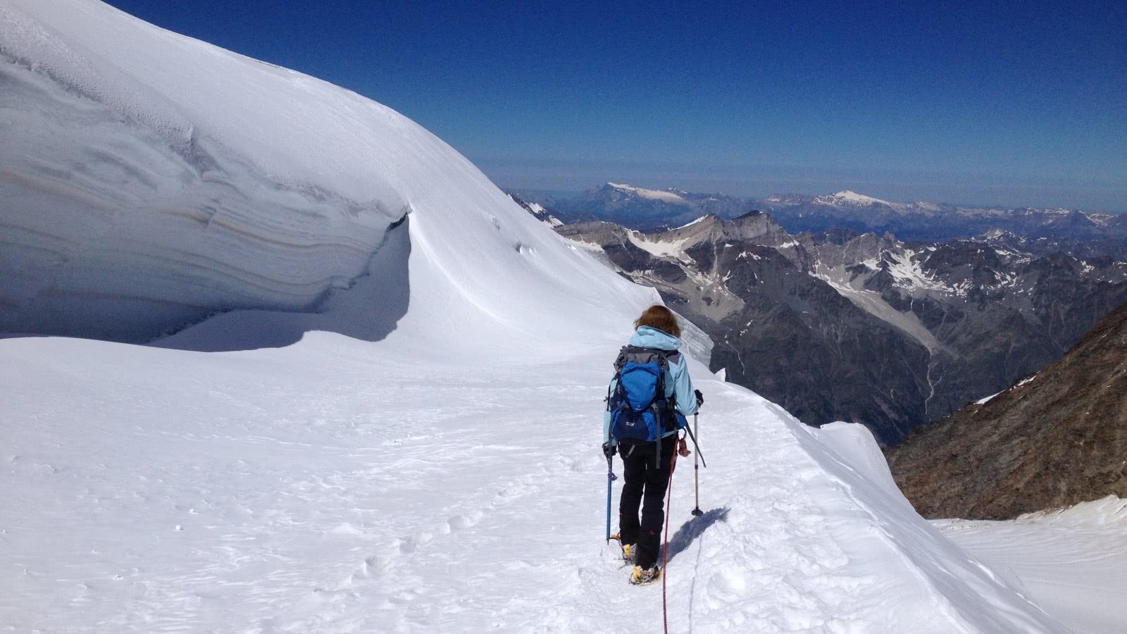 Stage alpinisme initiation