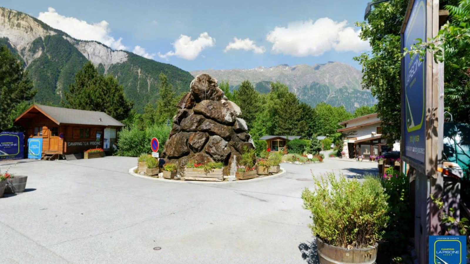Camping de la Piscine Bourg d'Oisans