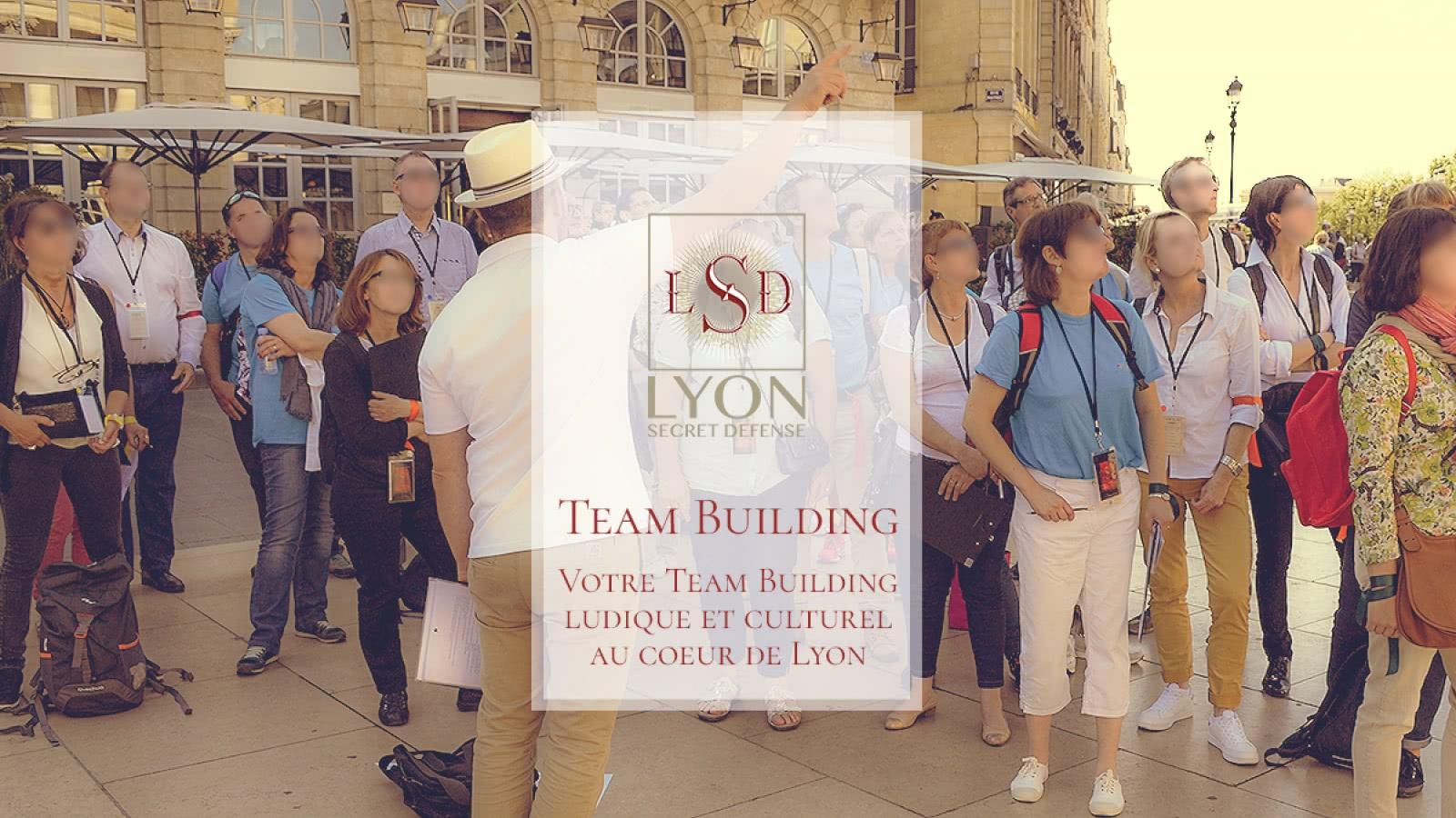 Proposez à votre équipe un team building ludique et culturel au coeur de Lyon