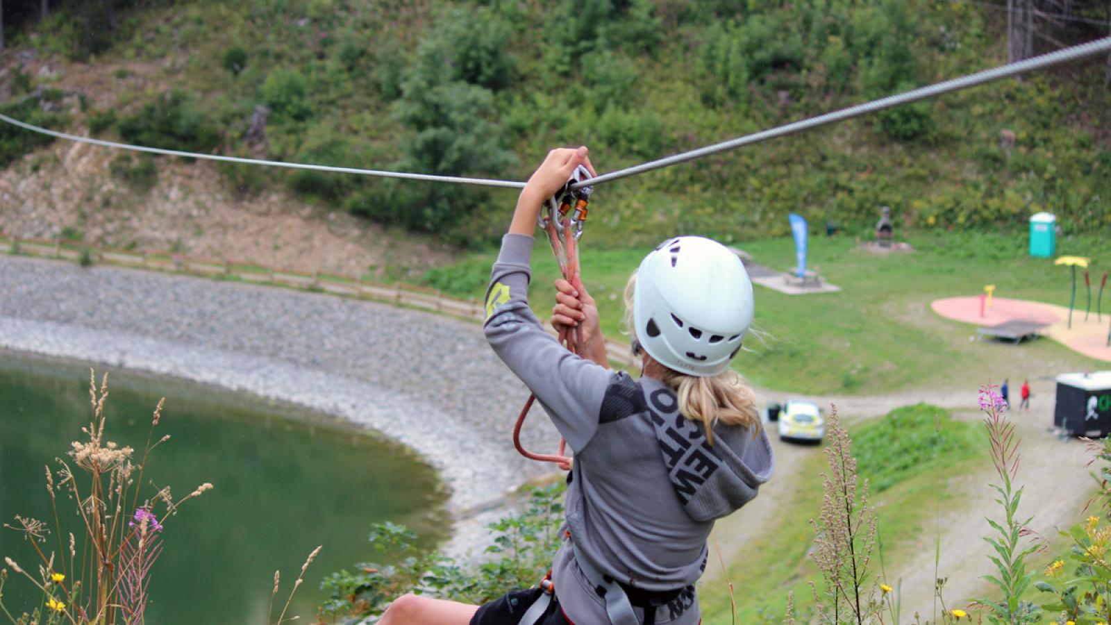 Chamrousse Melting-sports festival - tyrolienne