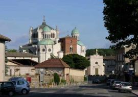 La basilique d'Ars-sur-Formans