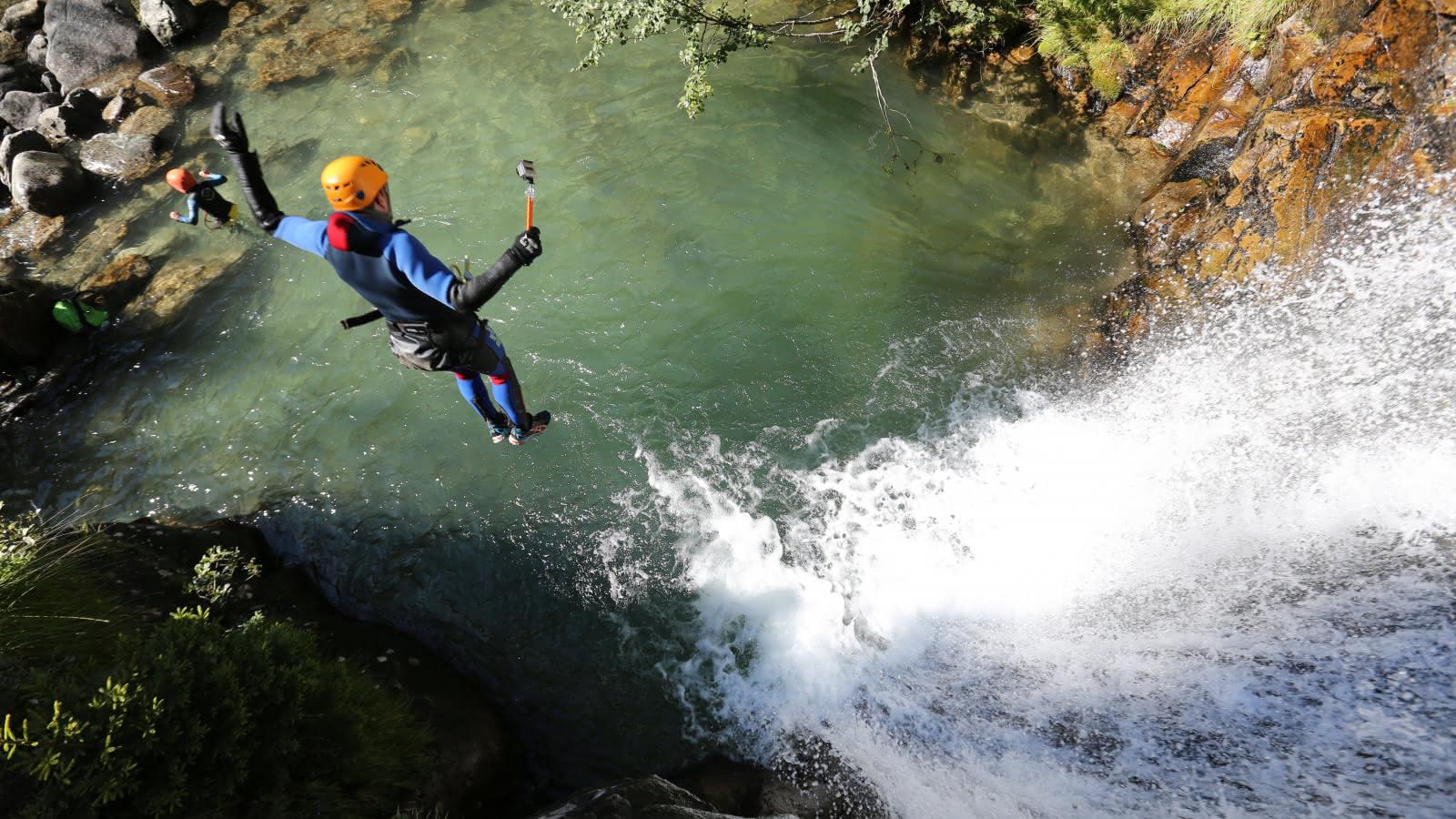 Canyon - Cie des Guides de Chamonix