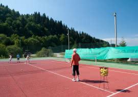 Stage et leçon de tennis