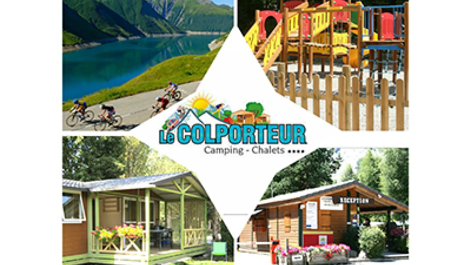 Camping Le colporteur Le Bourg d'Oisans