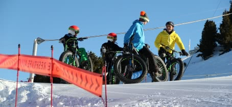 Picture of fat bikes