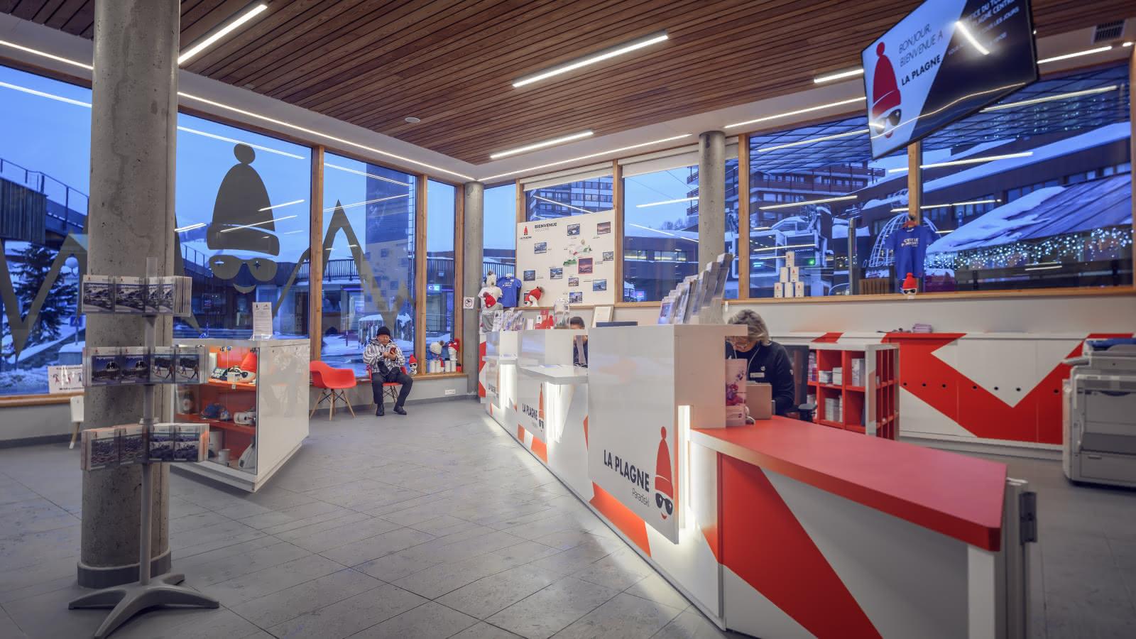 Accueil Office de Tourisme de Plagne Centre