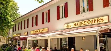 Terrasse restaurant les Marronniers