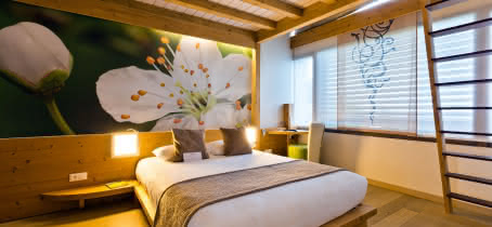 Chambre hotel La Croix de Savoie