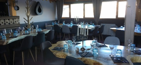 Restaurant le chalet du Mottet à Valmorel
