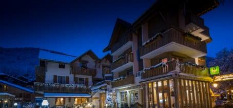 Hotel le Gai Soleil de nuit... saison hiver