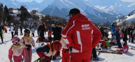 Cours de ski collectifs enfants