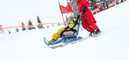 tandem ski esf