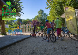 Location de vélos au camping Le Vaugrais