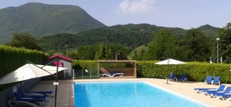 Notre piscine et sa pataugeoire