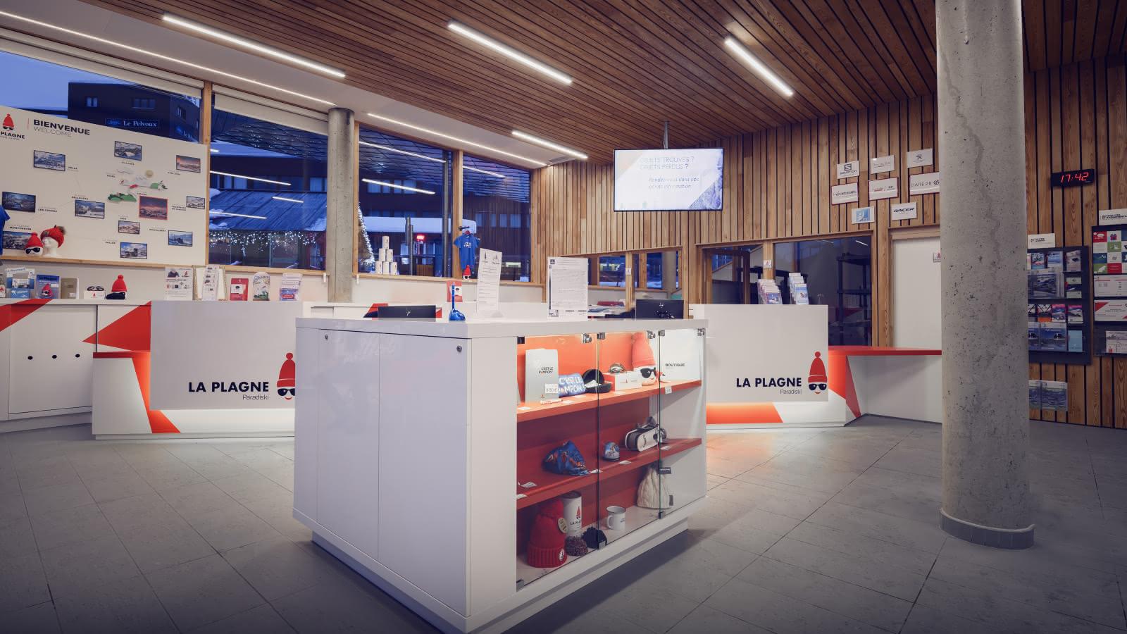 Intérieur Office de Tourisme de Plagne Centre