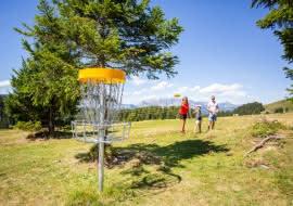 Frisbee golf image