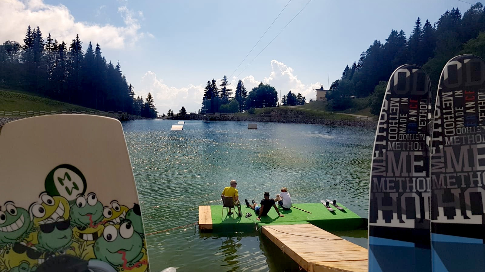 Picture of the Cable-ski activity