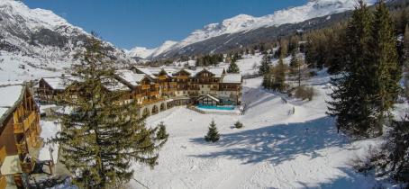 La résidence 'les Alpages' à Val Cenis-Lanslebourg