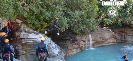 Bureau des Guides de Val Cenis Canyon de l'Ecot